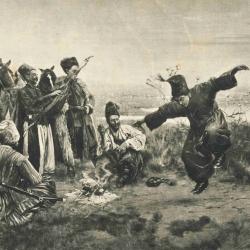 Kozacy rabują miasto
