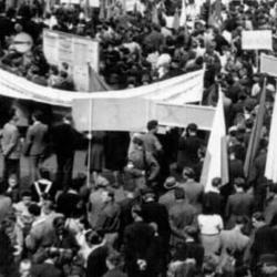 Manifestacja we Włocławku